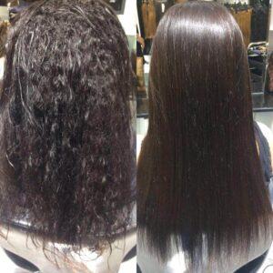 Keratin Hair Straightening salon in Dubai