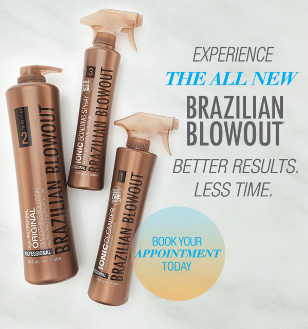 Brazilian Blowout for better results in less time