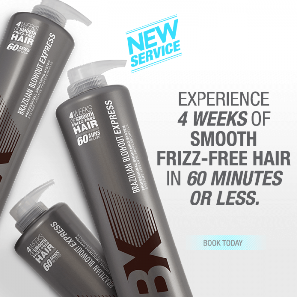 Experience 4 weeks of smooth frizz-free hair in 60-minutes or less