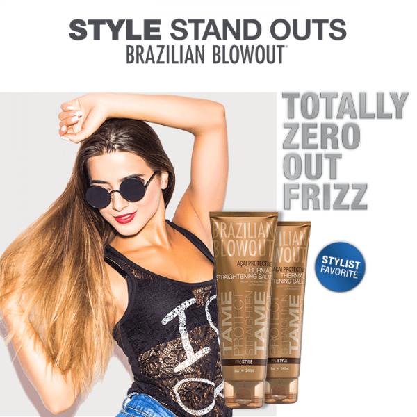 Zeros out frizz
